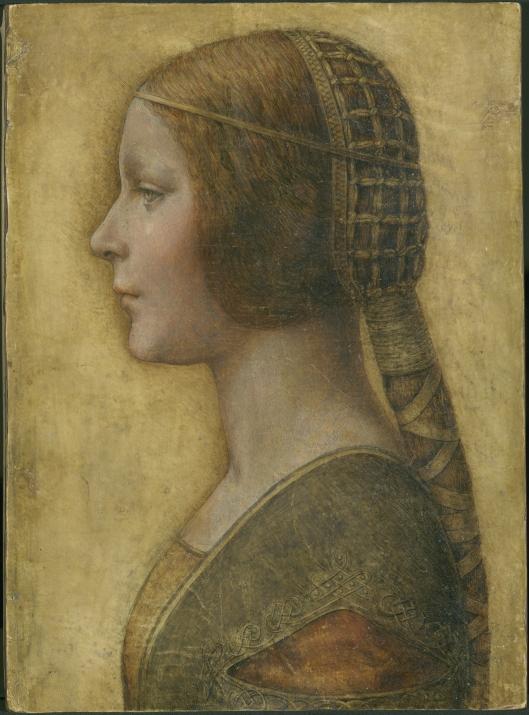 Portrait of a young Lady by Leonardo da Vinci